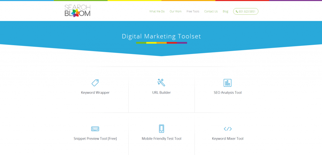 digital marketing toolset